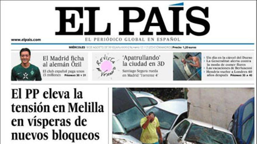 De las portadas del día (18/08/2010) #6