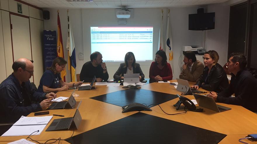 Mesa de seguimiento del Fenómeno Meteorológico Adverso.