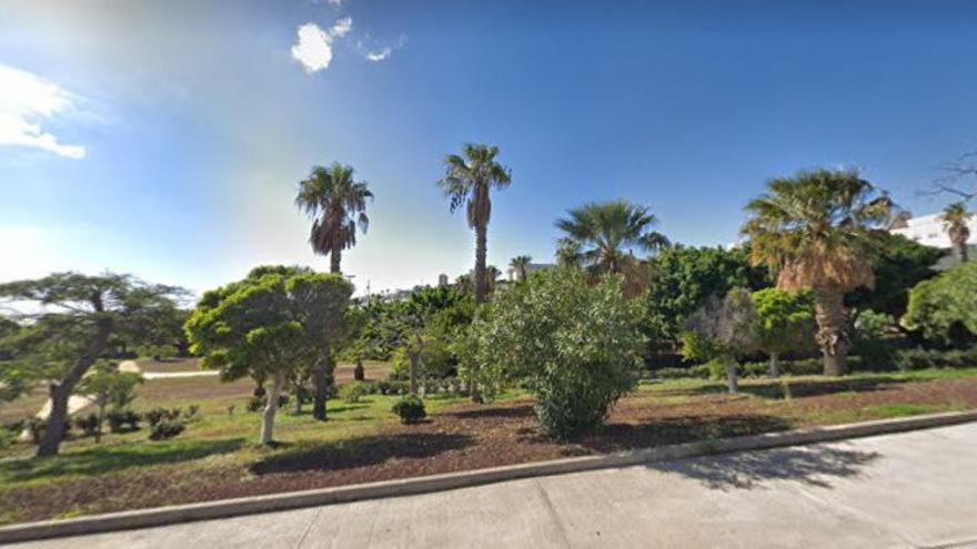 Parque La Estrella en el barrio de Santa María del Mar, en Santa Cruz de Tenerife