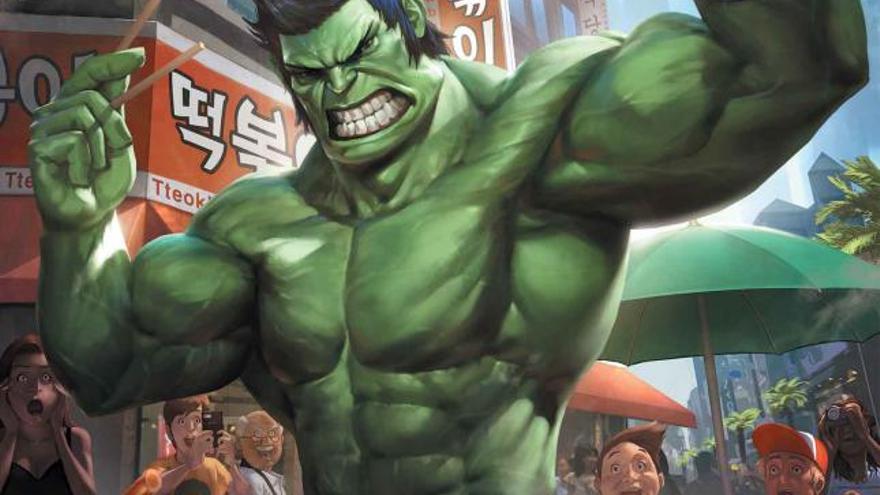 Hulk Asiático