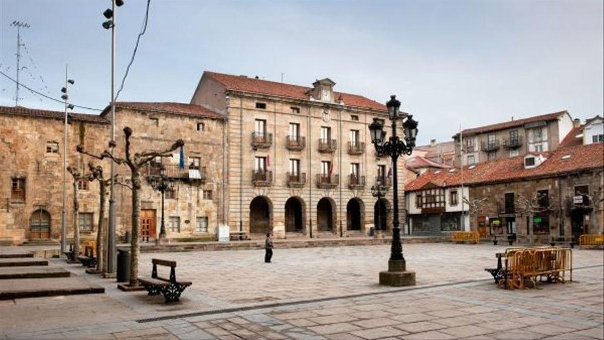 Plaza del Ayuntamiento de Reinosa.