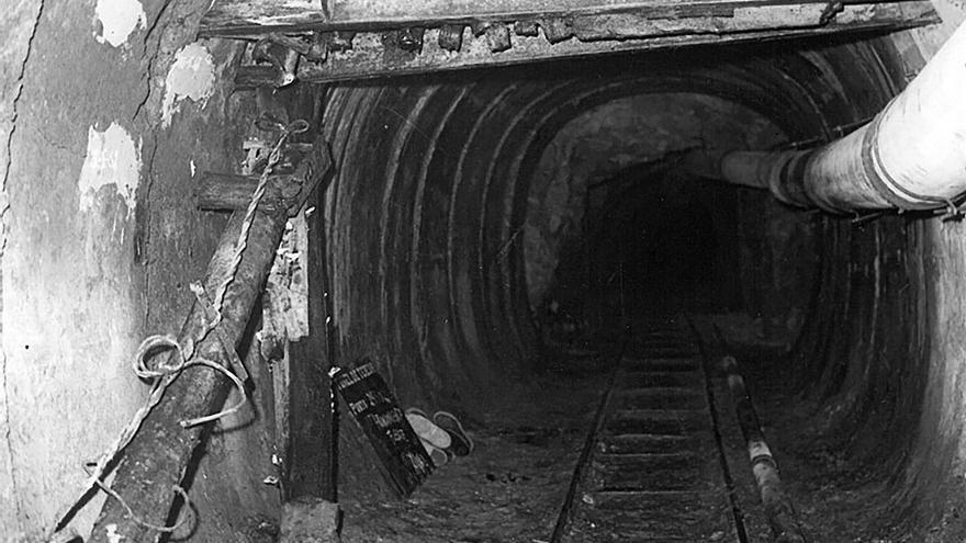 Final del Tunel de Tejeda.
