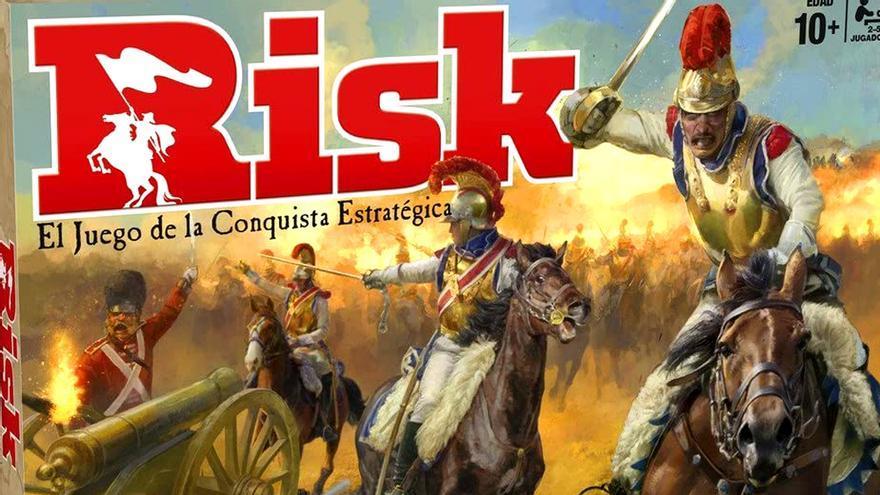 El juego de mesa 'Risk'