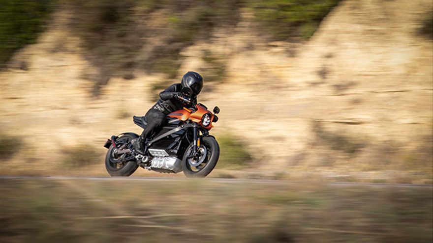 Harley-Davidson LiveWire, moto eléctrica