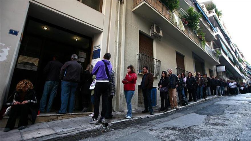 El paro se redujo en Grecia en dos décimas en agosto hasta el 25,9 por ciento