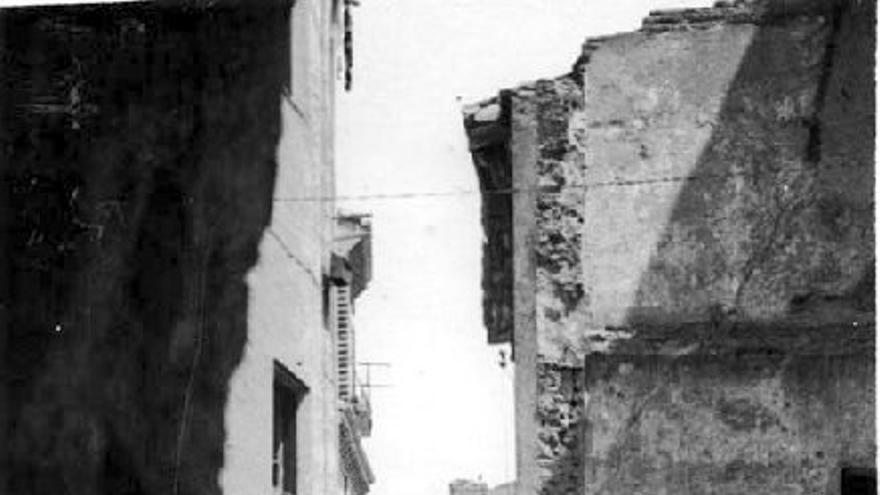 Barrio del Boterón en los años 50