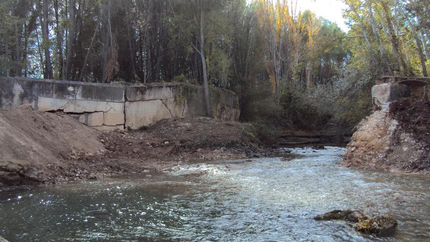 Cauce del río Júcar en una imagen de noviembre de 2017
