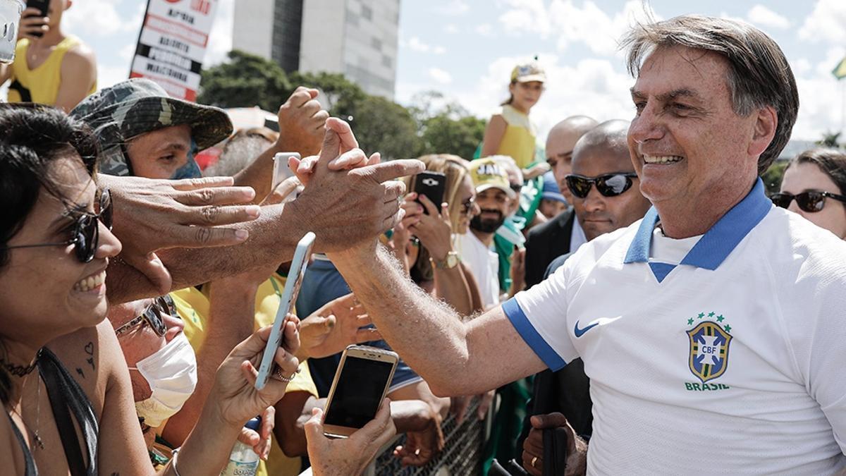 Bolsonaro buscará una demostración de fuerza este martes en Brasil.
