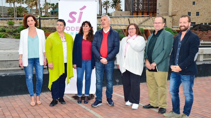 Candidatos de Sí Podemos Canarias al Cabildo insular