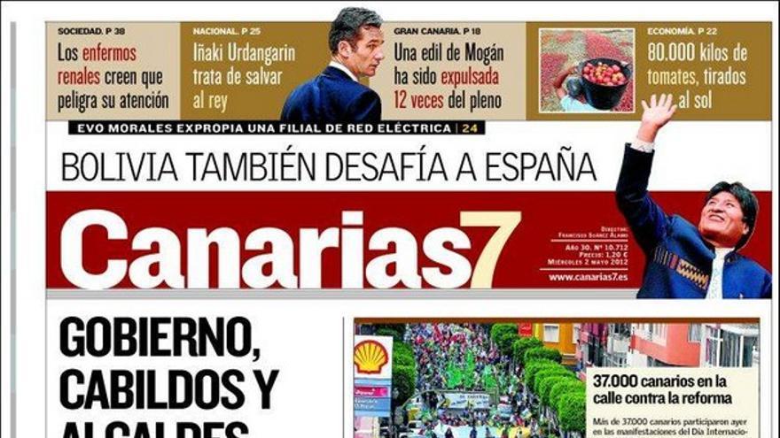 De las portadas del día (02/05/2012) #2