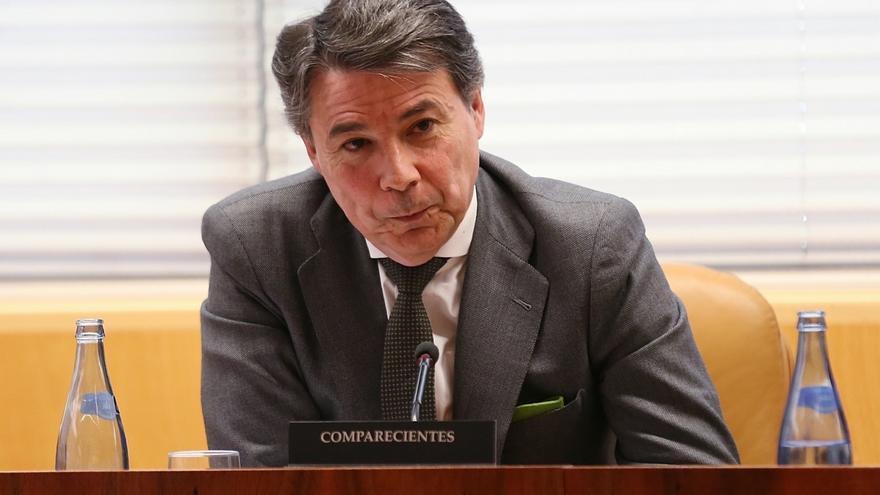 El expresidente madrileño Ignacio González en una comparecencia en la Asamblea.