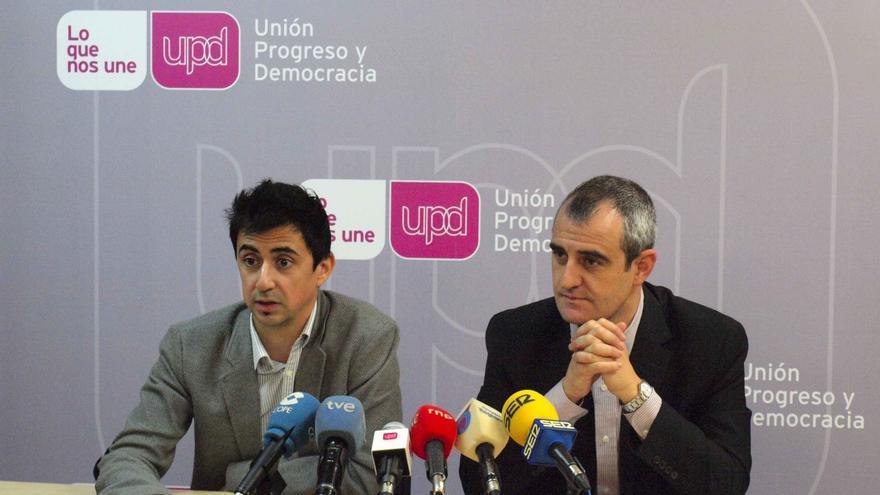 Rubén Juan Serna y César Nebot (UPyD)