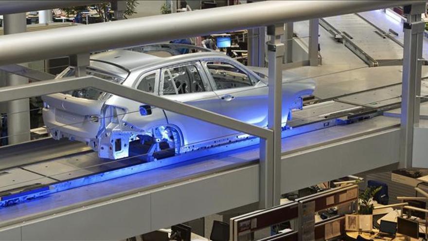 La producción industrial alemana subió un 0,2 por ciento en octubre