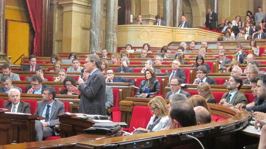 """Mas defiende el """"derecho"""" del Parlamento catalán a aprobar una nueva ley de consultas"""