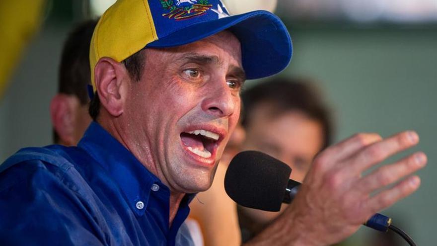Capriles llama a hacer presión a favor de las elecciones generales en Venezuela