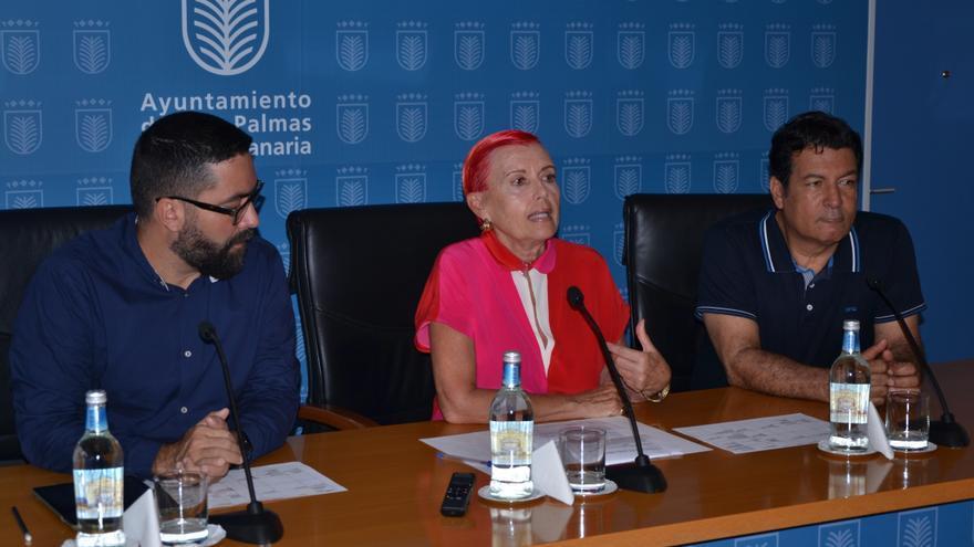 Israel Reyes, Maria Isabel García Bolta y Alberto Trujillo. (ACOIDAN DÍAZ)