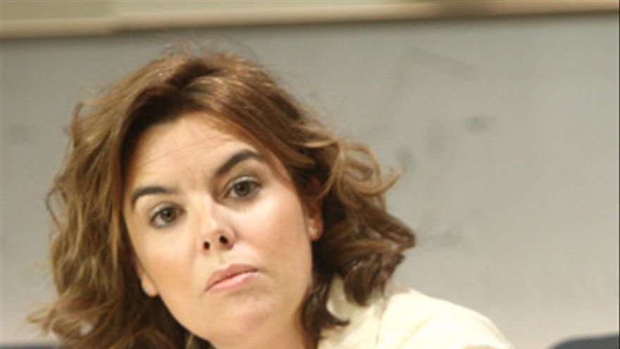 Portavoz del Grupo Popular en el Congreso, Soraya Sáenz de Santamaría