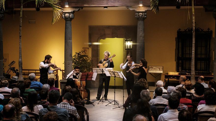 La Casa de Colón inicia un ciclo de música antigua con trío Accademia dell'Atlante