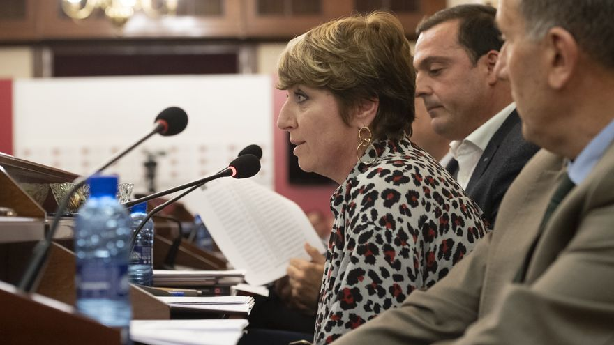 La portavoz adjunta del PP en la Diputación de Castellón, Elena Vicente-Ruiz