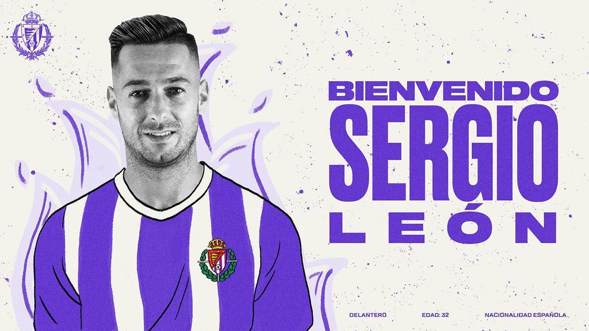 Sergio León, nuevo jugador del Valladolid.