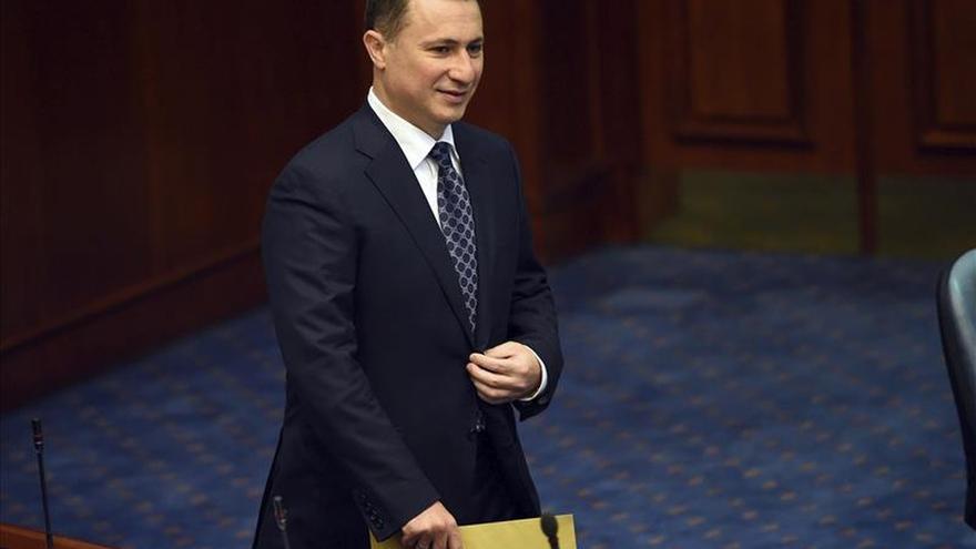 Aterriza de emergencia en Zurich el avión del primer ministro macedonio