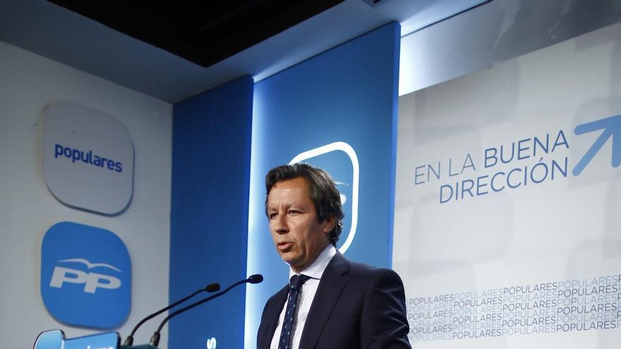 Floriano arropará este viernes al PP catalán tras algunas quejas internas por la inacción de Rajoy