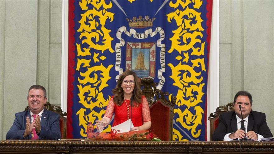 Ana Belén Castejón, del PSOE, nueva alcaldesa de Cartagena (Murcia)