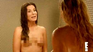 Sandra Bullock, desnuda en la ducha para un programa de televisión
