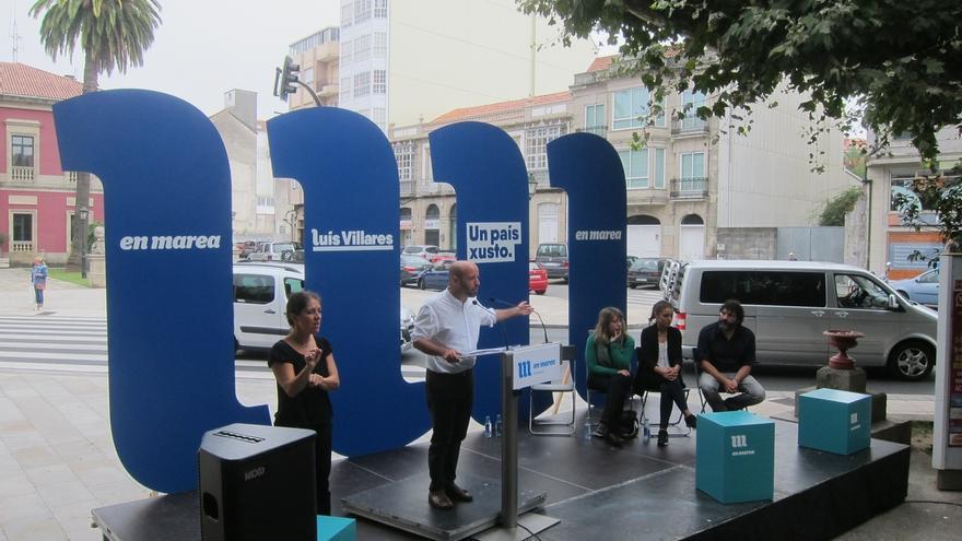 """Villares acusa a Feijóo de """"manejar Galicia como una empresa"""" que despide a gente por sus """"malos resultados"""""""