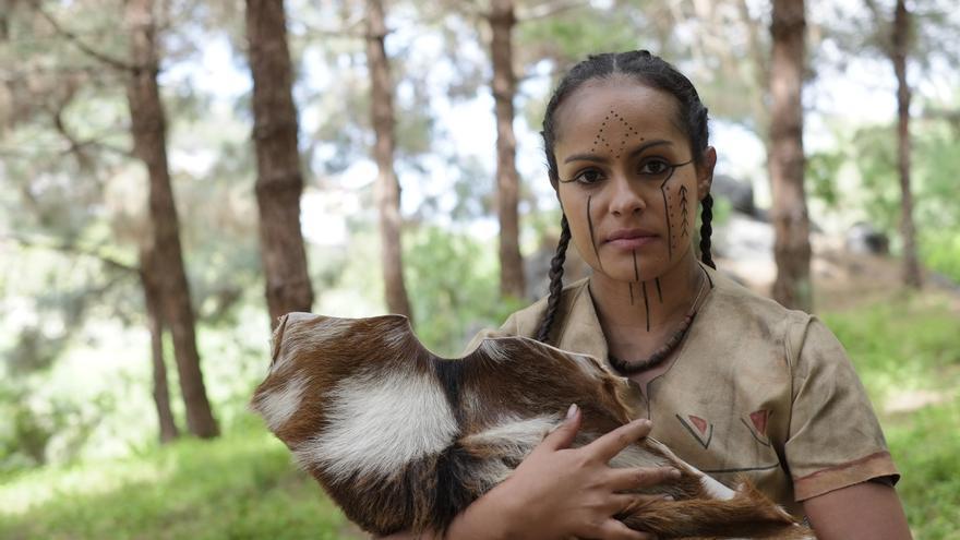 Laura Perdomo, acaba de recibir el premio a la Mejor Actriz, en el Festival Internacional de Cine Amazigh Issni Nourgh, de Agadir.