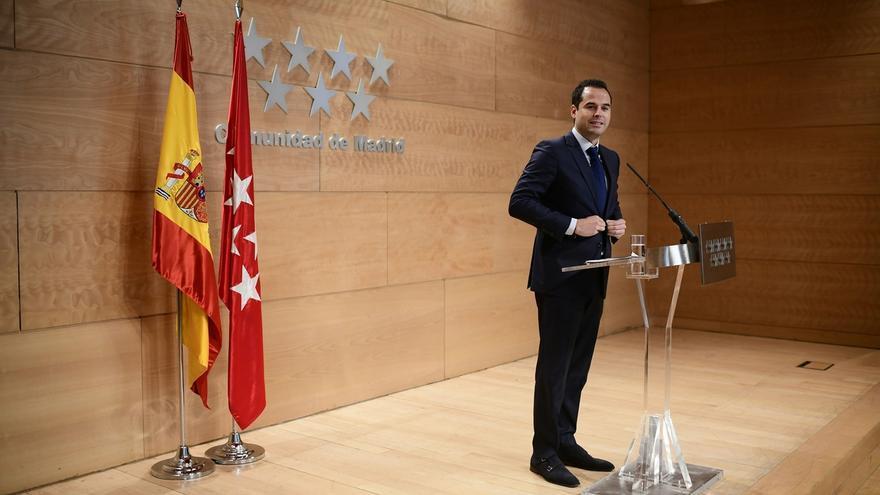 """Aguado carga contra Celaá y dice que con un gobierno de PSOE y Podemos habrá """"más imposición y menos libertad"""""""