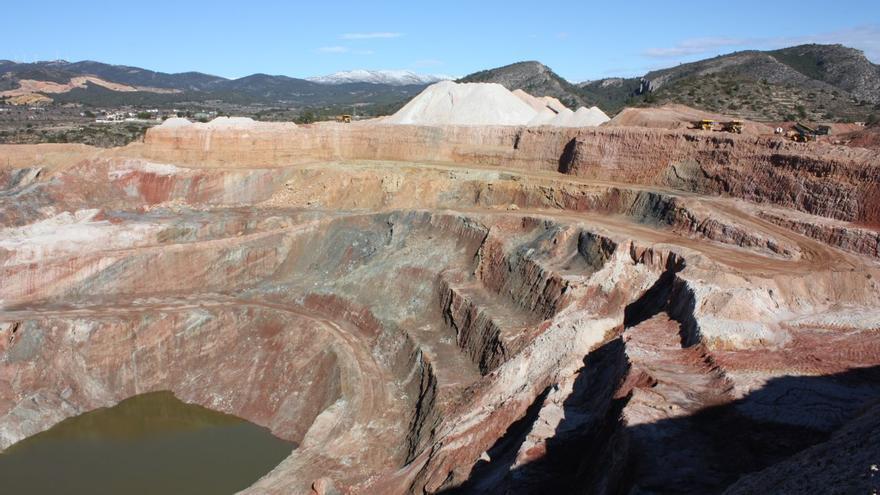 La mina Mercedes, en Villar del Arzobispo.
