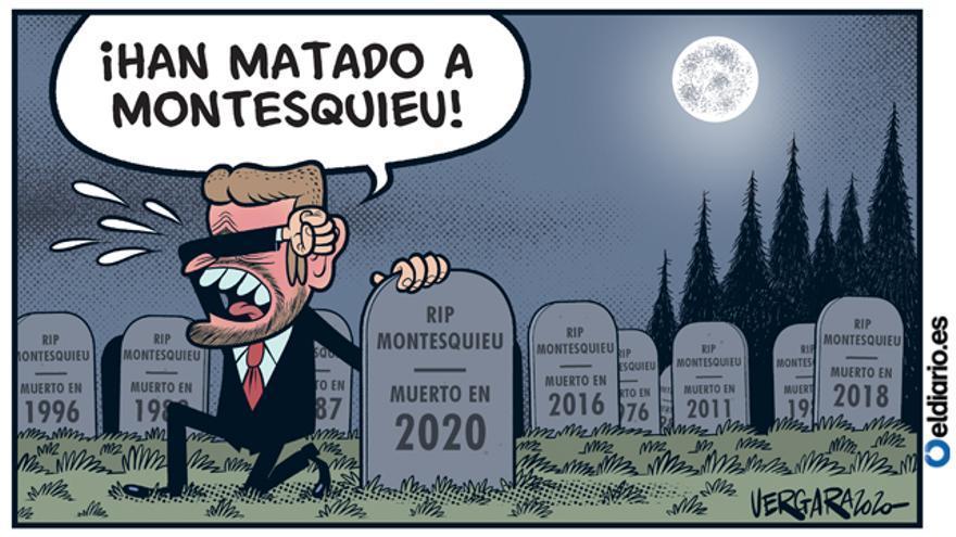RIP Montesquieu