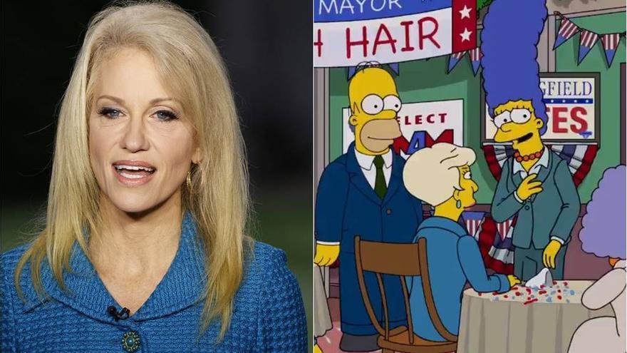 Los Simpson comparan a la asesora de Trump con Goebbels, el propagandista nazi