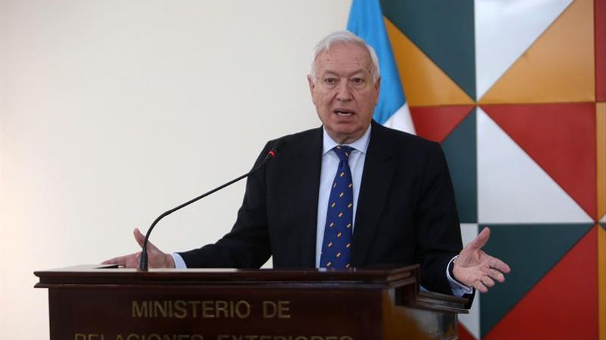 Margallo responsabiliza a Daesh de los atentados de Bruselas