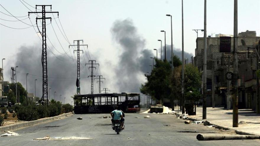 Al menos 5 muertos por el disparo de cohetes de facciones islámicas en Alepo