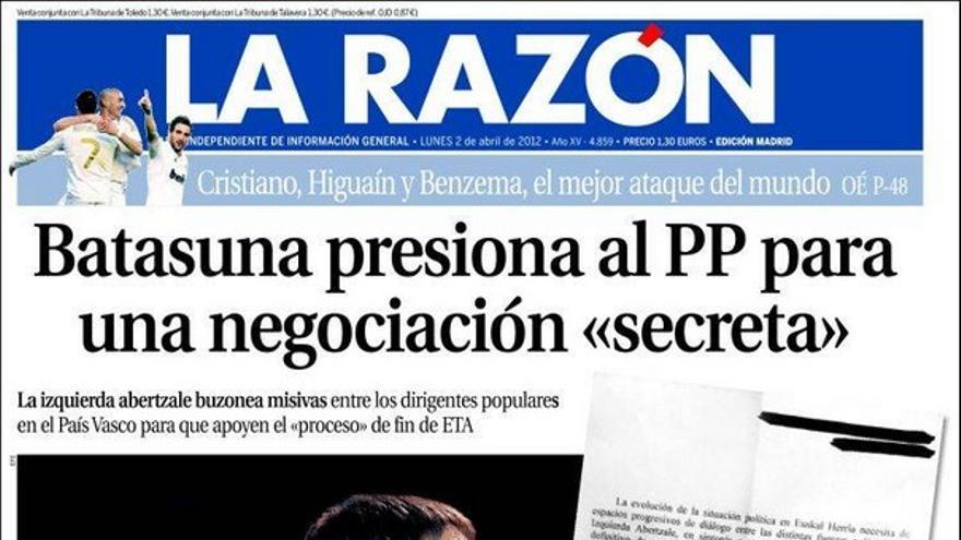 De las portadas del día (02/04/2012) #10