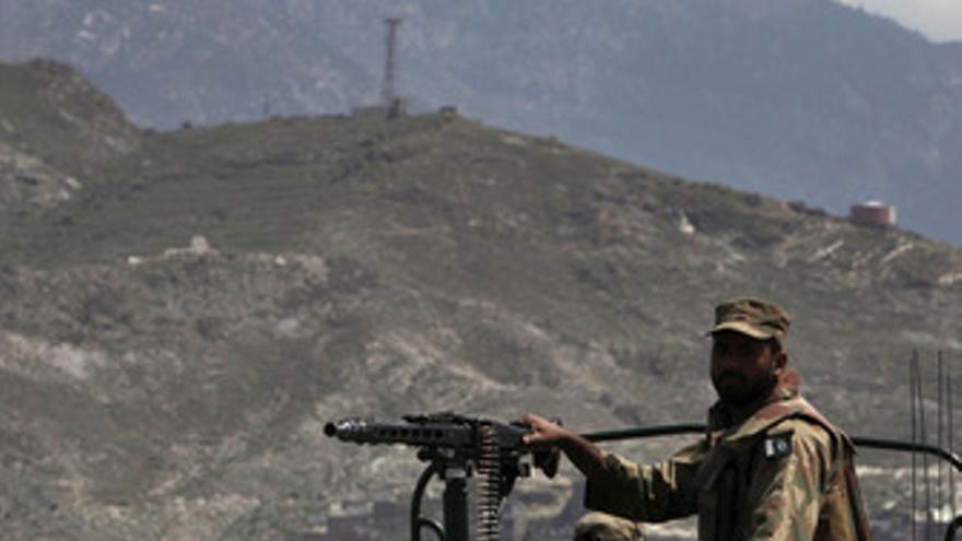 Soldado en Pakistán
