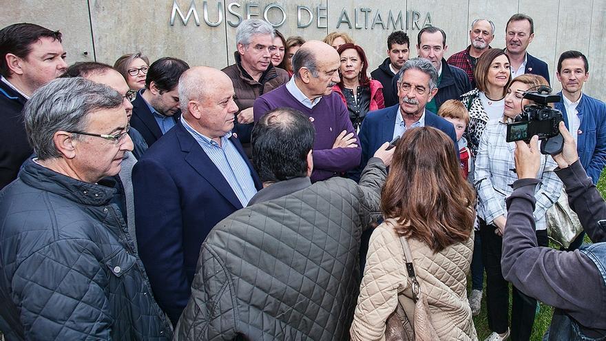 El PRC reivindica la construcción inmediata del Centro de Arte Rupestre de la UNESCO en Santillana