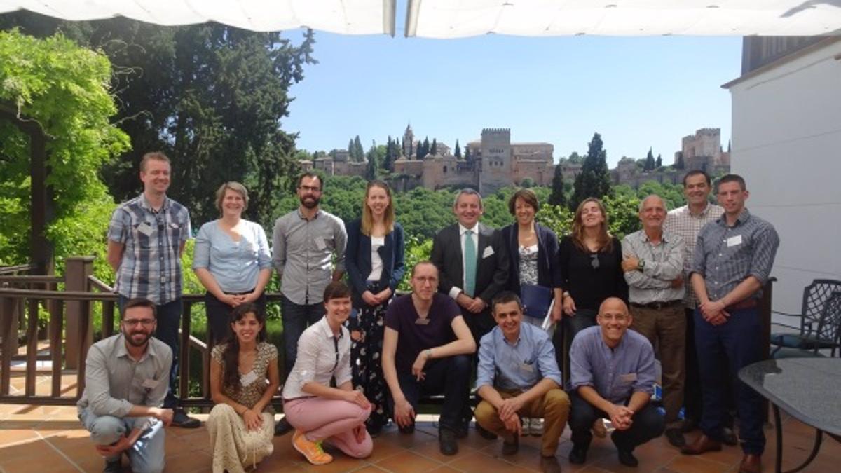 Grupo de investigación del proyecto europeo COOP+.
