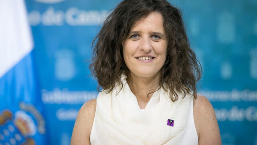 La directora del ICI, Kika Fumero. GOBIERNO DE CANARIAS