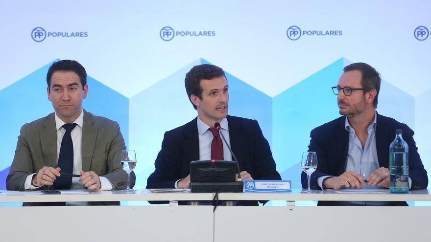 García Egea será el 'número dos' del PP y Dolors Montserrat, del equipo de Cospedal, portavoz en el Congreso