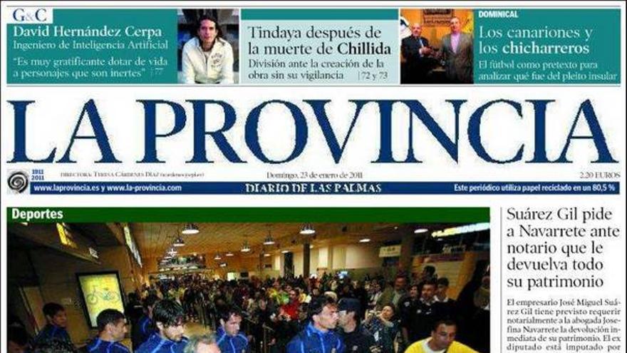 De las portadas del día (23/01/2011) #4