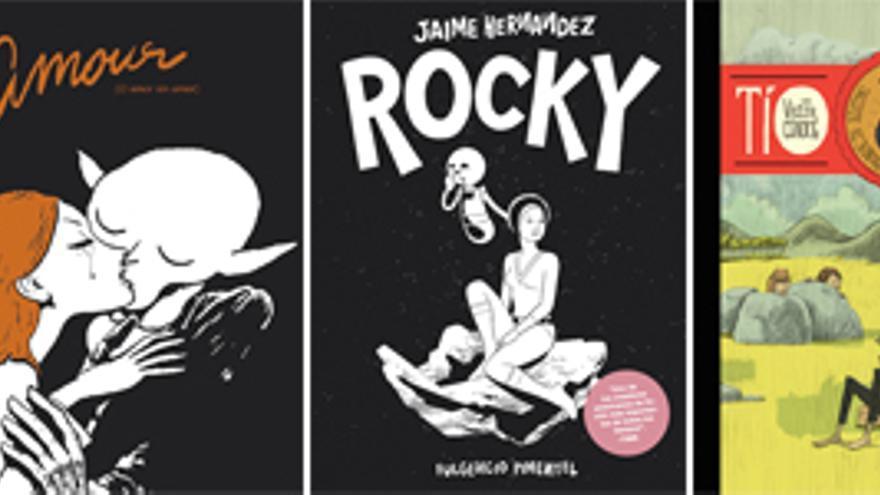 Sorteamos entre los socios estos 5 cómics de la editorial Fulgencio Pimentel
