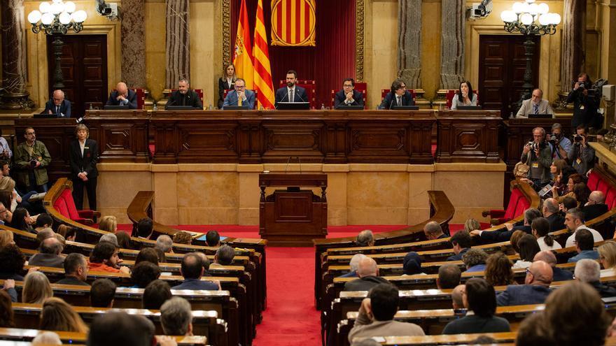 Malestar en el Govern con Torrent por cambiar la hora del pleno de la moción de autodeterminación