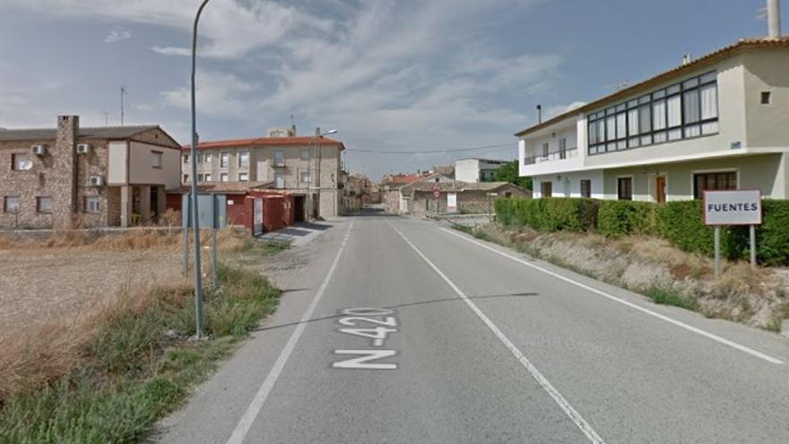 La localidad de Fuentes (Cuenca)