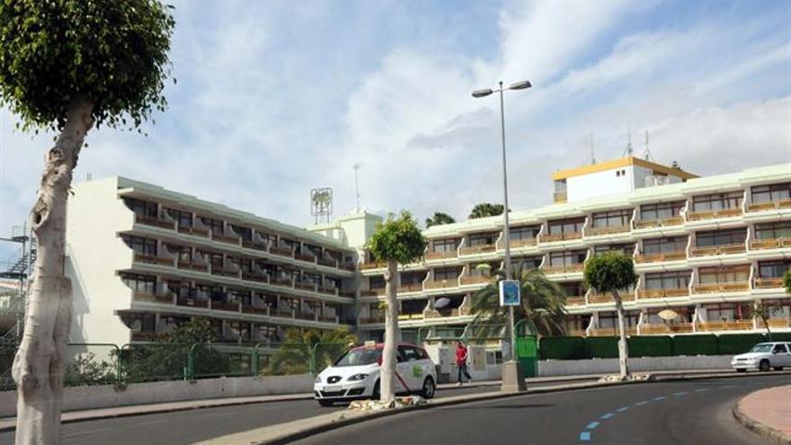 Apartamentos en la zona sur de Gran Canaria. (Foto:Europa Press, cedida por el ayuntamiento de San Bartolomé de Tirajana)