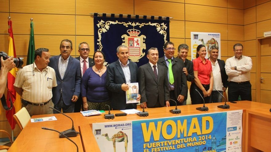 Rueda de prensa del Womad Fuerteventura 2014.