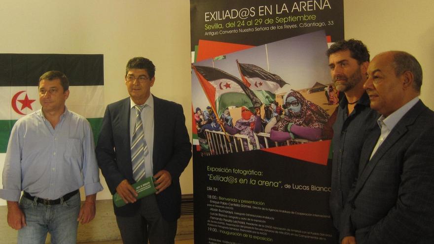 Valderas anuncia una visita en enero de una delegación de la Junta a campos de refugiados saharauis