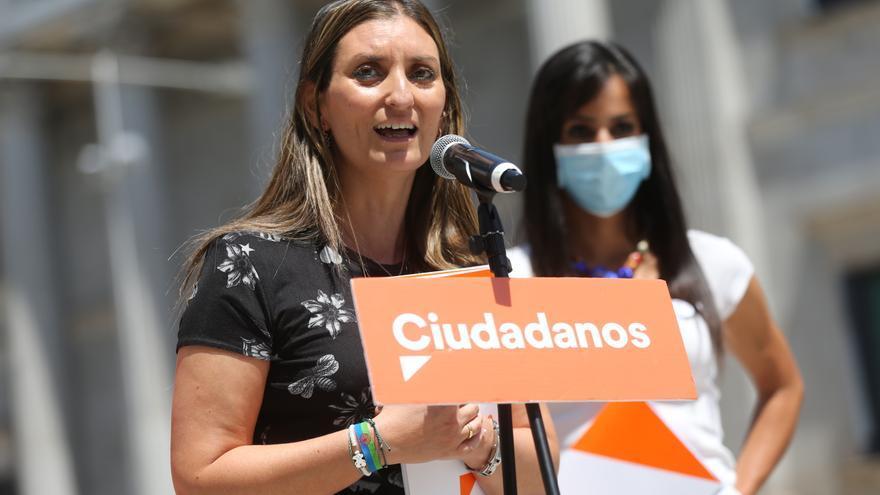 La portavoz de Derechos Sociales de Ciudadanos, Sara Giménez.